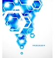 Abstract blurred geometrical background vector image