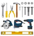 tool set vector image vector image