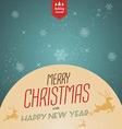 Merry christmas 5 vector image