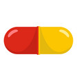 aspirin icon cartoon style vector image