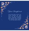 Beautiful diamond frame vector image