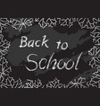 turkwoodturkwoodback to school vector image