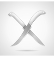 icon for knives vector image