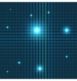 glow lines seamless pattern vector image