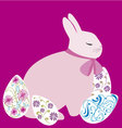 Easter Bunny 5 vector image