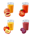 juices vector image