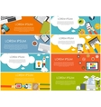 Modern Flat Design Banner for your Business vector image