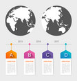 world map pointer marks icon flat web sign symbol vector image