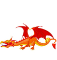 Red Dragon vector image vector image