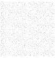 abstract background of tiny black dots on a white vector image