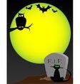 Graveyard Animals vector image