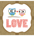 In Love Card3 vector image
