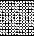 abstract background of white connected dots in vector image