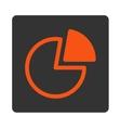 Pie Charts Icon vector image