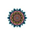 Decorative tribal mandala ornament rosette vector image
