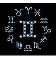 Diamond Signs Of The Zodiac vector image