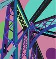Bridge Scene vector image vector image