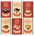 Asian Food Banners vector image