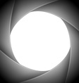 aperture camera vector image