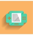 games console flat modern design vector image vector image