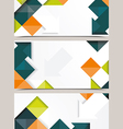 template design vector image