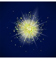 Sparkling Texture Star Flash vector image