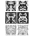 Tribal celtic ornament vector image