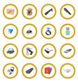 spy cartoon icon circle vector image