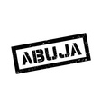 Abuja rubber stamp vector image
