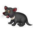 Cartoon Tasmanian devil vector image