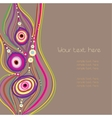 vector abstract background vector image vector image