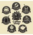 coffee and tea shop vector image