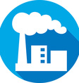 Industrial Factory Icon vector image vector image