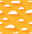 clean flat cloud modern background vector image