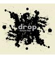 Drop blot vector image