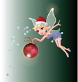 Santa Fairy vector image