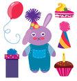 Set of Birthday vector image