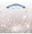 Snow abstract Christmas background for your design vector image