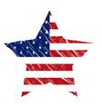American star vector image