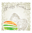 Grungy Easter Background vector image vector image