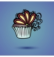 Decorative Ornate Cake vector image