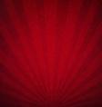 Red Luxury Sunburst Background vector image vector image