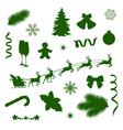 set decorations vector image
