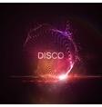 Disco neon sign vector image