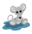 little mouse vector image