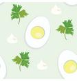 eggs wallpaper vector image vector image
