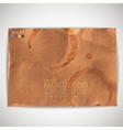 abstract background with grunge cardboard texture vector image
