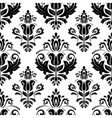 Damask Seamless Pattern Abstract Background vector image
