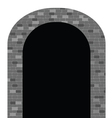 tunnel vector image