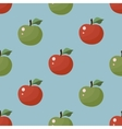 Seamless Texture Apple pattern vector image